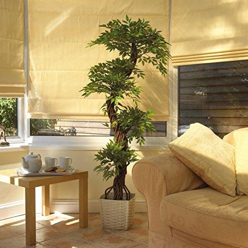 Stilvoller künstlicher Baum & Pflanzen, Der Japanese Fruticosa Tree ist eine wunderschöner künstliche Pflanze für Büros und Innendekorationen Höhe: 165cm groß. Pflanzen für einen Wintergarten - 4