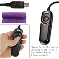 Pixel RC201/DC2 Cable Disparador para Nikon D3100 D3200 D3300 D5000 D5100 D5200 D5300 D5500 D90 D7000 D7100 D7200 D600 D610 D750 DF MC-DC2 Cable