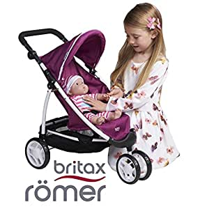 britax r mer b agile cool berry doll stroller doll buggy stroller pushchair toys. Black Bedroom Furniture Sets. Home Design Ideas