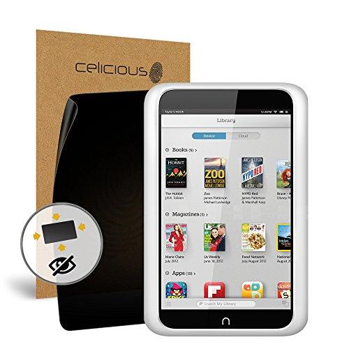 Celicious Privacy Plus Rundum Blick- und Bildschirmschutzfolie kompatibel mit dem Barnes&Noble Nook HD