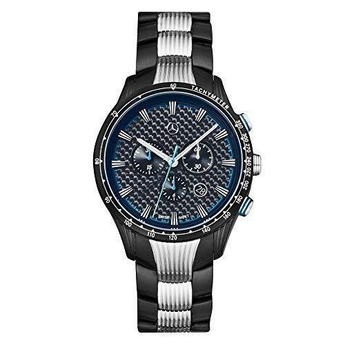 """mercedes benz original reloj pulsera hombre acero inox. """"Motorsport Ch"""