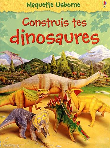 Construis tes dinosaures - nouvelle couverture