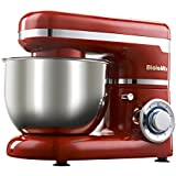 HITSAN Biolomix Kitchen Stand Mixer 4L Stainless Steel Bowl 1200W Professional Chef Machine Foamer Mixer