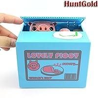 HuntGold cute cochon volent l'argent boîte tirelire économiser médaille(1pcs)