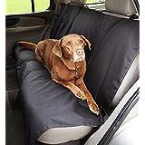 Amazon Basics Housse de protection de banquette arrière de type banc pour animaux domestiques