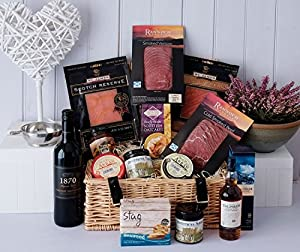 The Smokehouse Dinner Hamper from Fine Scottish Hampers