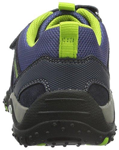 Superfit SPORT4 700224, Jungen Sneakers, Blau (OCEAN 80) Blau (OCEAN KOMBI 81)