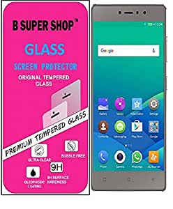 B SUPER SHOP Tempered Glass Guard for GIONEE S6S