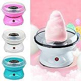 MultiWare 450W Zuckerwattemaschine Rosa Zuckerwatte Maschine für Zuhause Automat Zuckerwattegerät Cotton Candy Machine(Weiß)