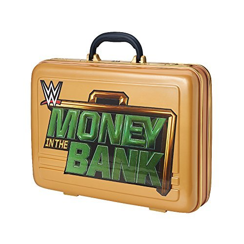 WWE GOLD MONEY IN THE BANK BRIEFCASE COMMEMORATIVE WRESTLING SETH ROLLINS WWF by WWE by WWE - Wwe-ausrüstung