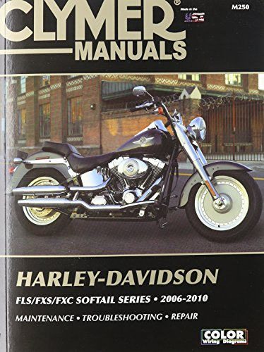 Harley Davidson FLX/FXS/FXC Softail Series - Clymer: 2006-2010 (Haynes Automotive Repair Manuals)