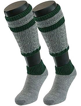 Trachten Loferl Berchtesgaden grau grün Socken Loferl