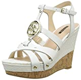 Guess Okie Floki2 Lea03, Women's Wedge Sandals