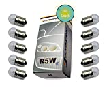 Jurmann Trade GmbH® 10x Stück R5W 12V 21W BA15S Blinkleuchte Halogen Lampen Autolampen KFZ-Beleuchtung Birne