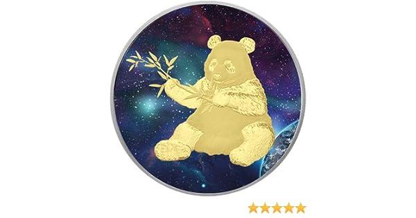 Big Bang Panda Colorized Silver Coin 10 Yuan China 2017 Amazon Fr Jeux Et Jouets