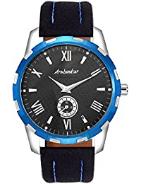 Armbandsur Black dial small second hand watch -ABS0035MBB