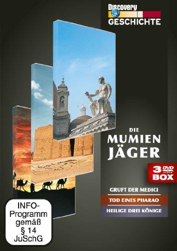 Discovery Geschichte - Die Mumienjäger (3 DVDs)