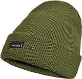 normani Herren Wintermütze Skimütze mit Thinsulatefütterung extra warm Farbe Oliv