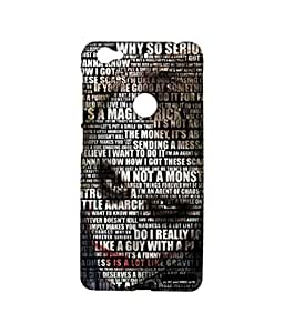 Joker Quotes Phone Cover for LETV 1S by Block Print Company