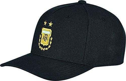 Argentinien Cap (adidas Herren Argentinien Away FL Kappe, Black/Clblue, OSFM)