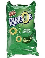 Golden Wonder Cheese and Onion Ringos, 6 x 14g