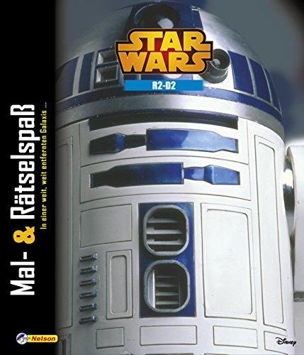Star Wars: Mal- und Rätselspaß R2-D2