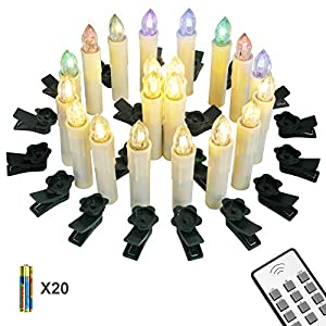 Yorbay Velas de LED Decorativas
