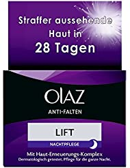 Olaz Anti-Falten Lift Anti-Aging-Nachtcreme, Tiegel, 1er Pack (1 x 50 ml)