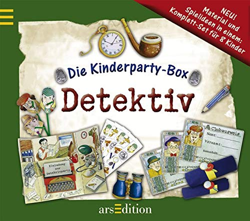 Die Kinderparty-Box: Detektive
