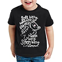 style3 Soft Kitty Camiseta para Niños T-Shirt Sheldon
