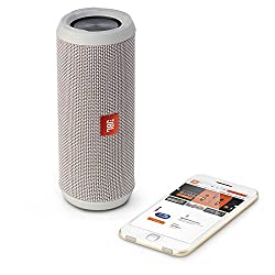 JBL Flip 3 Splashproof Portable Bluetooth Speaker (Gray)
