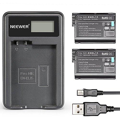 Neewer® (2 Batterie)Batterie Ricaricabili in Sostituzione usato  Spedito ovunque in Italia