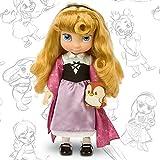 Offizielle Disney 38cm Dornröschen Aurora Animator Kleinkind-Puppe mit Zubehör-Eule