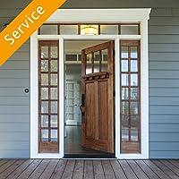 Deadbolt or Push Button Door Lock Installation