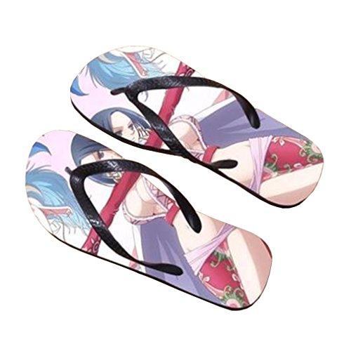 Bromeo One Piece Anime Unisex Flip Flops Zehentrenner Flip Pantoffeln 375