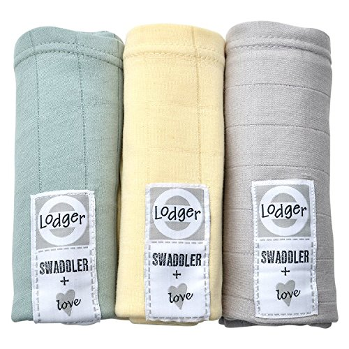 Lodger SWCTH60041011 Spucktücher Baumwolle Scandinavian Solid 3-Pack, 70 x 70 cm