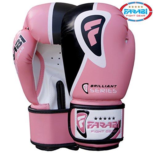 Farabi Sports Guantes Boxeo/Guantes Boxeo Rosa Color