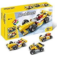 RV Media Architect Series 3 in 1 Educational Racing Car Building Blocks Learning Bricks Toy -121 Pieces
