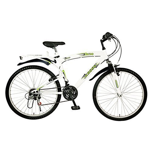 Kross K-10 26T 18 Speed Mountain Bike (White)