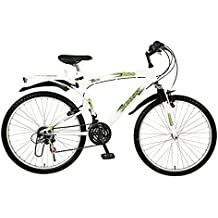 Kross K-10 26T 18 Speed Mountain Bike (White)
