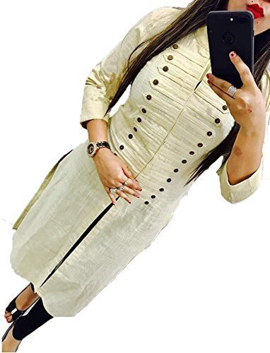BEST party wear Women's Designer kurti - COMFORTABLE Princess cut stitched long...