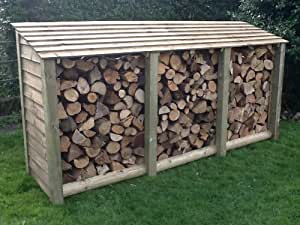 Extra Large Log Store, Pressure Treated