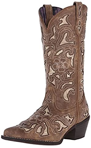 Laredo Women's Sharona Western Boot, Tan, 9 M US