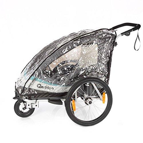 Qeridoo Zubehör Regenschutz für Sportrex1 Fahrradanhänger, 568745 - 2