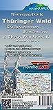 Wintersportkarte Thüringer Wald: Großbreitenbach - Blankenstein & Oberer Frankenwald -