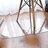 GWNJSSX Stuhlmatte PVC-Matte Hochtransparent 100% Polycarbonat Hartbodenschutz,90 * 150CM