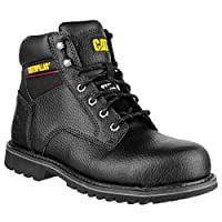Caterpillar Electric Mens 6 Black Safety Boots (10 UK) (Black)