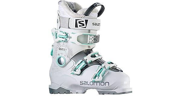 WhiteAnthracite transluc Ski SALOMON Blanc Chaussures de n0wXP8Ok