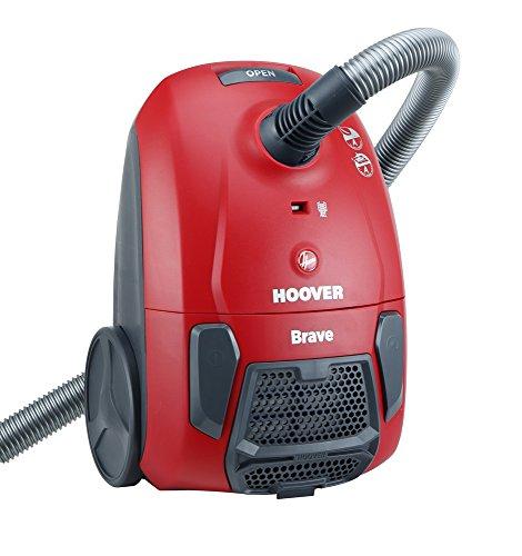 Hoover bv 10 traino con sacco brave, rosso