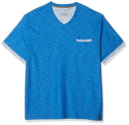 s.Oliver Big Size Herren T-Shirts 15.802.32.3228, Blau (Royal Blue 5545), XX-Large (Männer-hemd Royal Blau)